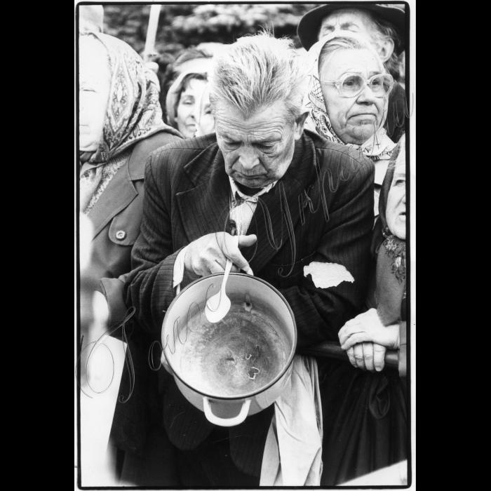 19.09.1995. Пікетування ВР ветеранами