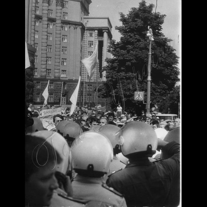 19.09.1995. Мітинг біля Кабміну.