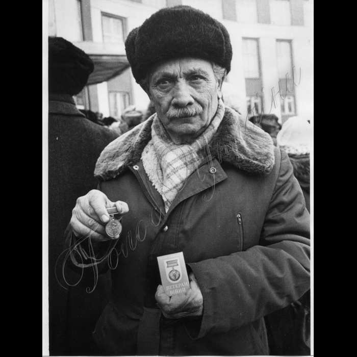 21.02.1997 Тимофій Ельпіліфоровіч Ходико - майор у відставці, учасник визволення Дніпропетровської області від німецько-фашистських загарбників, кавалер 4-х бойових орденів і 17 медалей.