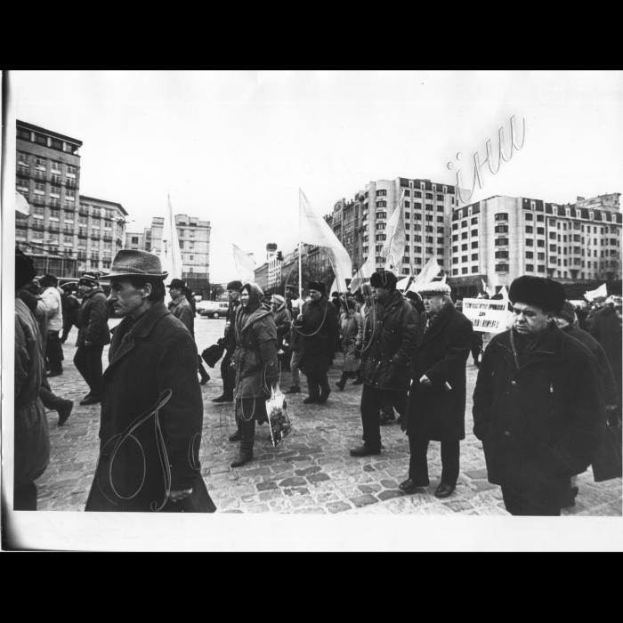 18.03.1997.  Мітинги біля ВР. Рух