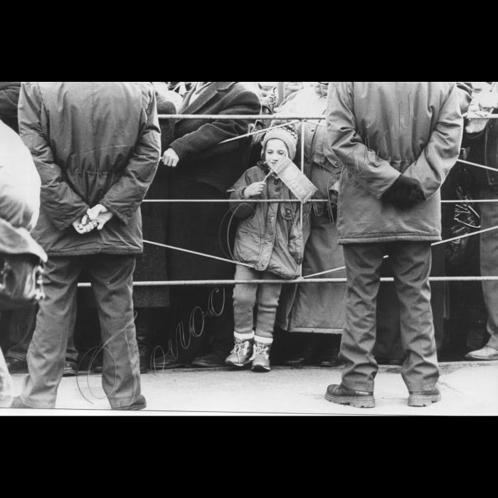 07.11.1997. Київ Комуністи, святкування річниці Жовтневої революції