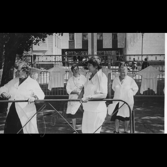 18.08.1999. Всеукраїнська акція протесту медичних працівників