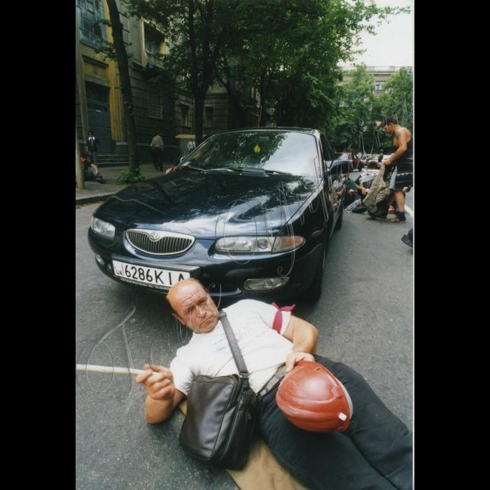 Серпень 1999. Страйк шахтарів.