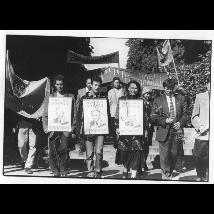 22.09.1999. Створення альянсу молодіжних організацій на підтримку на виборах Президента