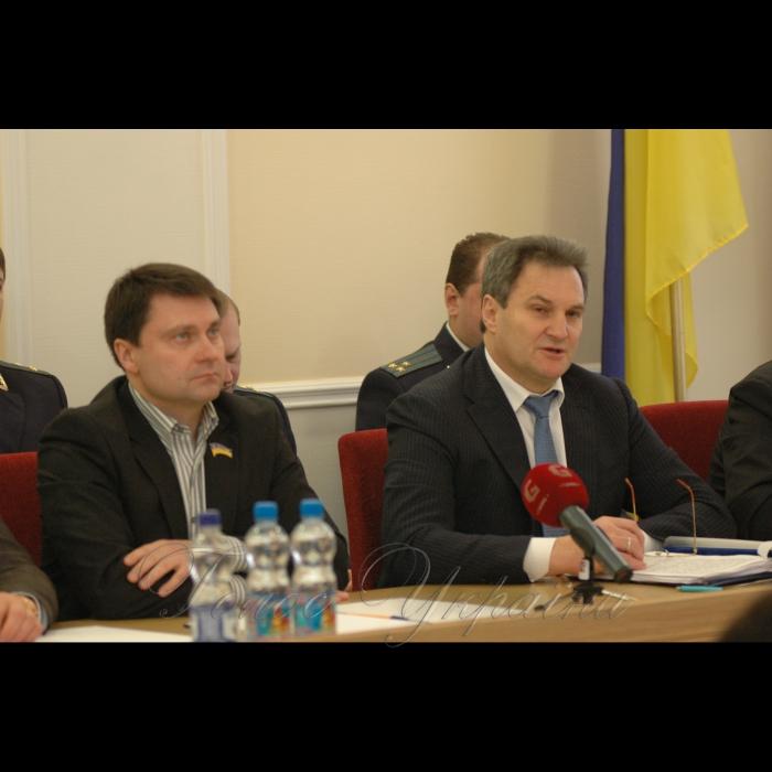 20 февраля 2009 расширенное заседание коллегии прокуратуры Киевской области по обеспечению прав лиц с ограниченными физическими возможностями и соблюдением законодательства об оплате труда.