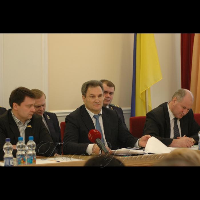 20 лютого 2009 розширене засідання колегії прокуратури Київської області щодо забезпечення прав осіб з обмеженими фізичними можливостями та додержанням законодавства про оплату праці.