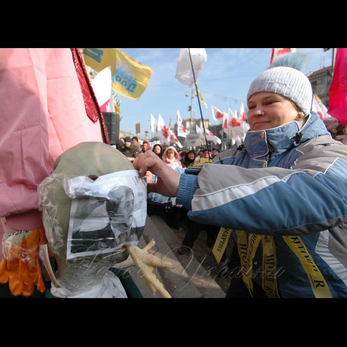 5 березня 2009 під стінами КМДА відбувся організований мітинг підприємців за участю 5000 представників малого та середнього бізнесу Києва, також до них приєднались підприємці Дніпропетровська, Дніпродзержинська, Львова та Донецька. Мітингуючі закликали лідерів політичних партій та фракцій підтримати рішення, прийняті 12 лютого, упродовж засідання КМР та розглянути пакет альтернативних пропозицій, спрямованих на можливість повноцінного функціонування та розвитку як малого так і середнього бізнесу Києва.