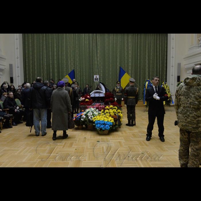 2 лютого 2018 прощання з космонавтом Леонідом Каденюком.