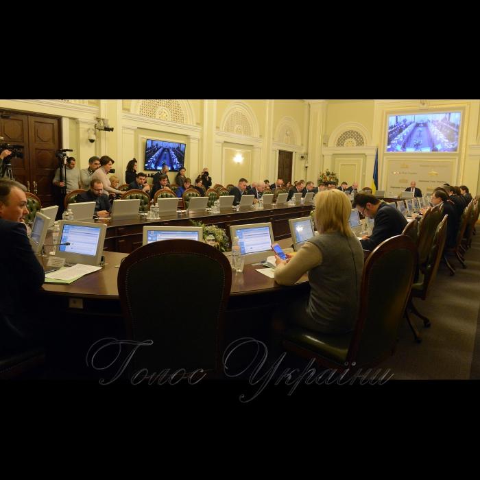 5 лютого 2018 засідання Погоджувальної ради у Верховній Раді України.