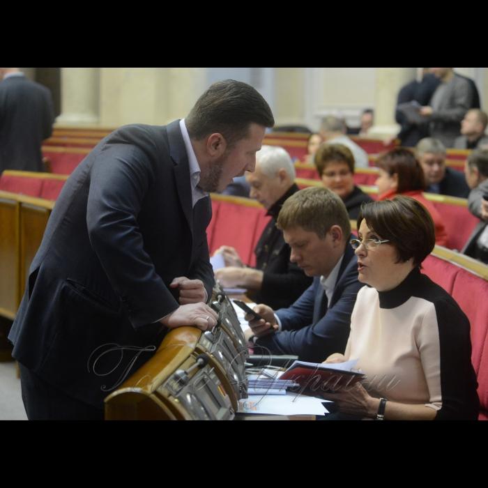 7 лютого 2018 сесія Верховної Ради України. Антон Яценко ВІДРО., Ніна Южаніна БП.