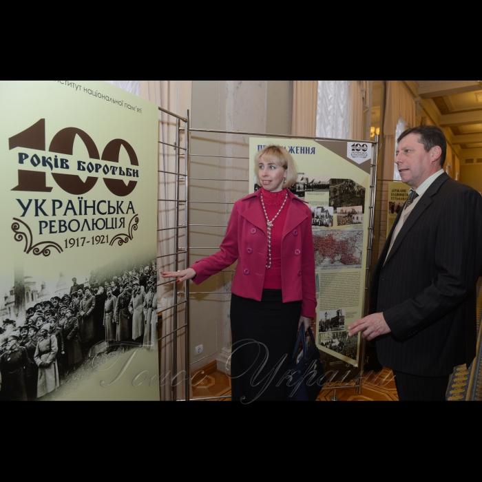 Фотоекспозиція у Верховній Раді України «100 років боротьби. Українська революція 1917-1921».