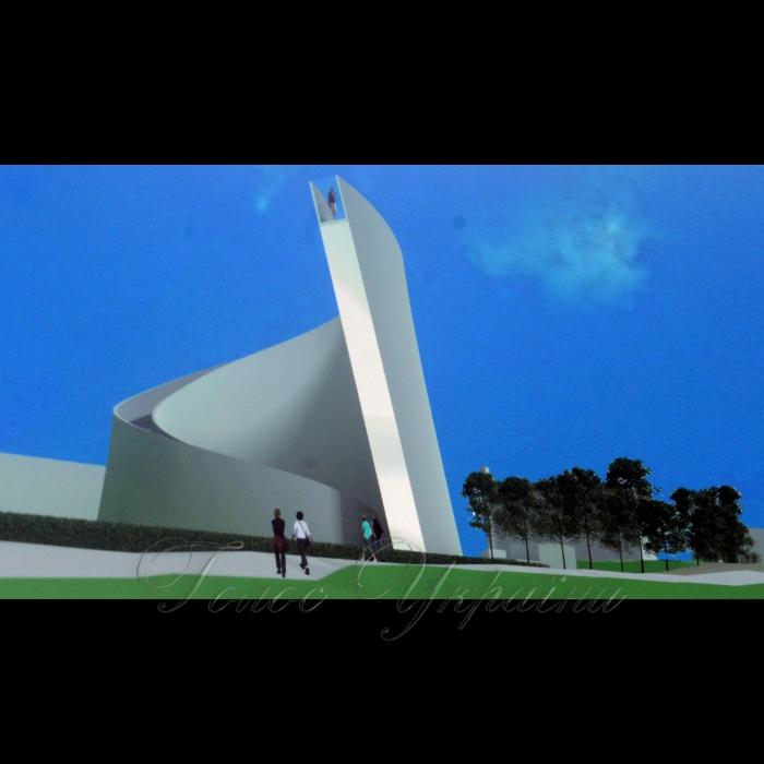 Виставка проектів Міжнародного відкритого архітектурного конкурсу на кращу проекту пропозицію в номінації «Меморіал Героїв Небесної Сотні».