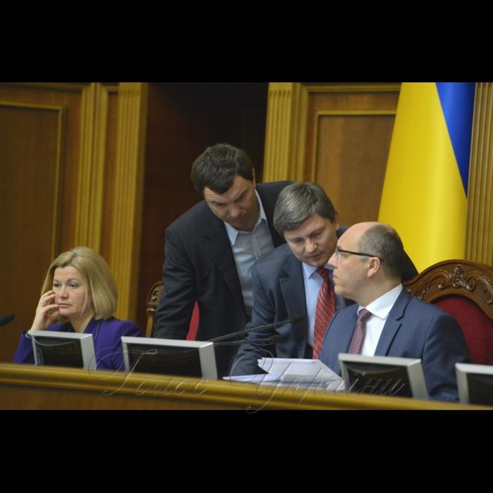15 березня 2018 сесія Верховної Ради України. Геращенко, Іванчук, Герасимов, Парубій.