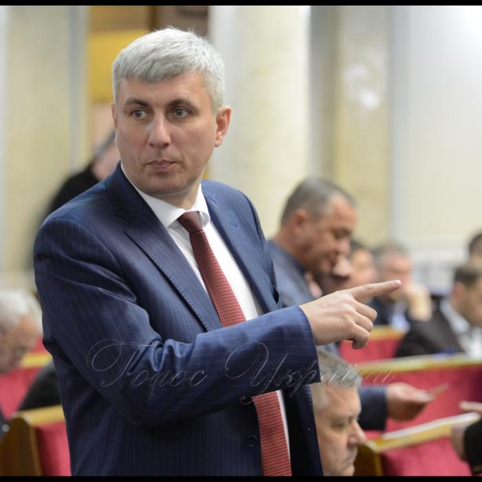 15 березня 2018 сесія Верховної Ради України. Андрій Гальченко ОП.