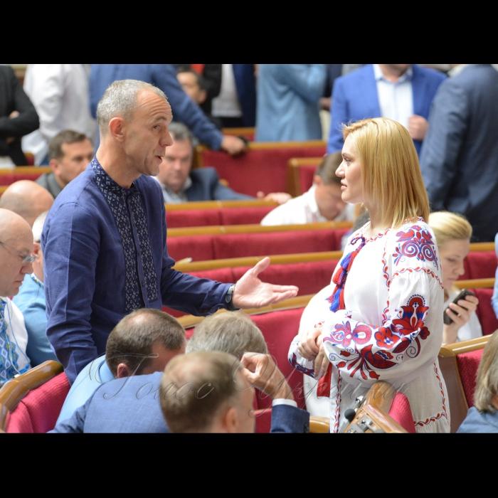 17 мая 2018 сессия Верховной Рады Украины. Андрей Кожемякин Б, Татьяна Острикова САМ.