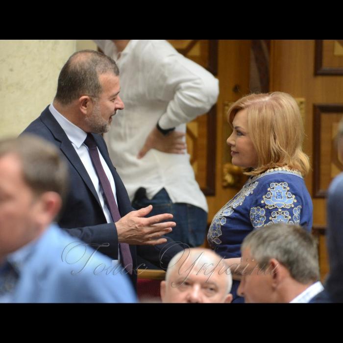 17 мая 2018 сессия Верховной Рады Украины. Виктор Балога позафр., Оксана Билозир БП.
