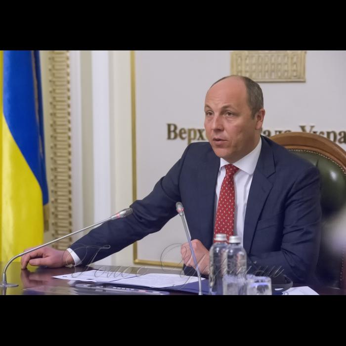 23 травня 2018 у Верховній Раді України відбувся семінар «Розвиток ефективного парламентського контролю за спецслужбами України» за участю Голови ВР Андрія Парубія.