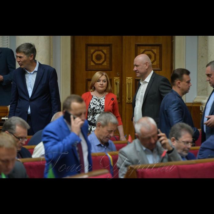 24 травня 2018 сесія Верховної Ради України. Оксана Білозір-БПП.
