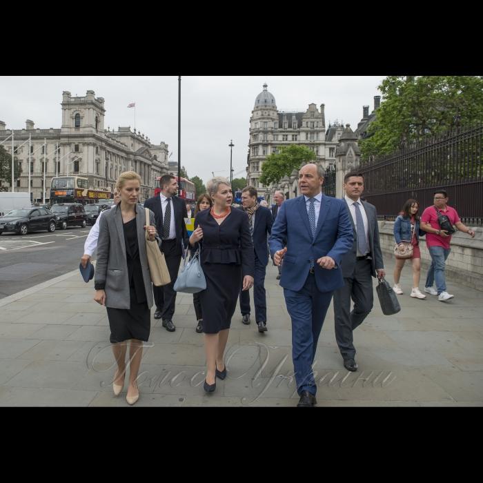 Голова Верховної Ради Андрій Парубій перебуває з візитом у Сполученому Королівстві Великої Британії та Північної Ірландії.