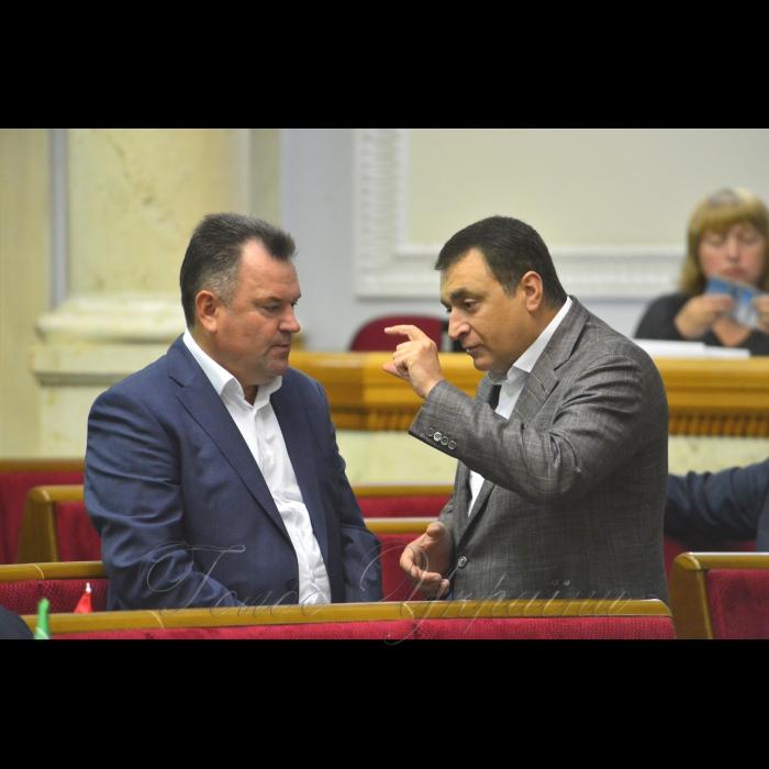 Сесія Верховної Ради України. Сергій Мельник БП Володимир Мельниченко БП