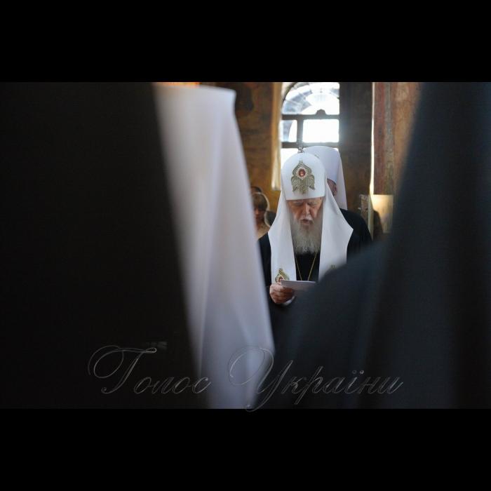 24 серпня 2018 День Незалежності України.  Молебень всіх конфесій у соборі Святої Софії Національного заповідника «Софія Київська». за участі очільників держави. Брали участь Голова Верховної Ради України Андрій Парубій разом з Президентом України, Верховним головнокомандувачем Петром Порошенком, Прем'єр-міністром України Володимиром Гройсманом, народними депутатами, урядовцями, гостями столиці.