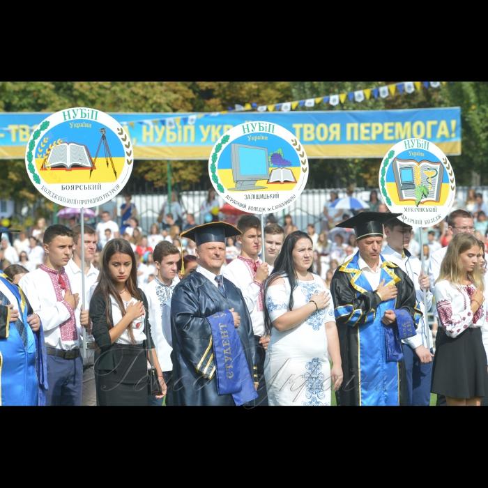 2 вересня 2018 Днем знань університет розпочав свій 121-й навчальний рік