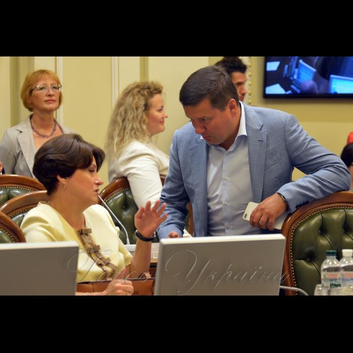 3 вересня 2018 погоджувальна рада Ніна Южаніна (БП), Олександр Данченко (САМ)