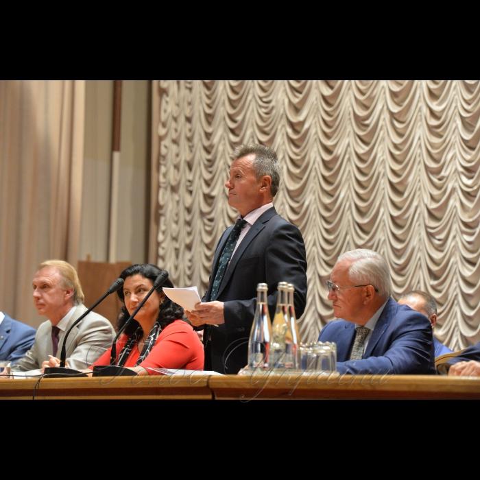 3 вересня 2018 в Інституті міжнародних відносин Київського національного університету імені Тараса Шевченка відбулася посвята у студенти.