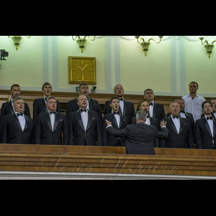 4 вересня 2018 урочисте відкриття дев'ятої сесії Верховної Ради України восьмого скликання. Ранкове пленарне засідання Верховної Ради України.
