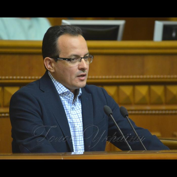 4 вересня 2018 урочисте відкриття дев'ятої сесії Верховної Ради України VIII скликання. Олег Березюк САМ.