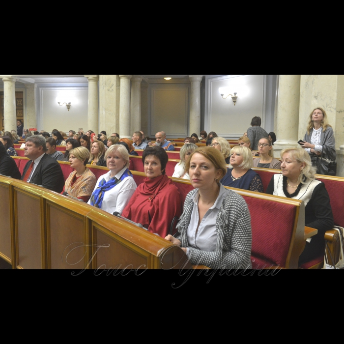 10  жовтня 2018 Парламентські слухання на тему: «Запобігання та протидія дискримінації жінок з вразливих соціальних груп».