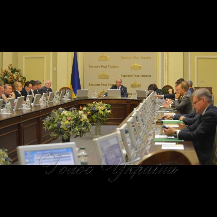 16 жовтня 2018 засідання Погоджувальної ради Верховної Ради України.