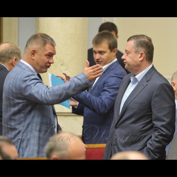 17 жовтня 2018 пленарне засідання Верховної Ради України. Борис Козир, Ярослав Дубневич БП.