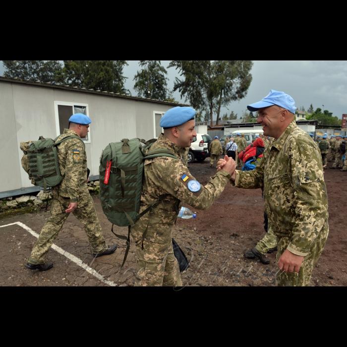 17 жовтня 2018 відбувся перший етап 9-ї ротації 18-го окремого вертолітного загону зі стабілізації в Демократичній Республіці Конго. Зі Львова літаком Збройних Сил україни ІЛ-76 до місця базування загону в аеропорту Гома прилетіло 131 військовиків ЗСУ, які будуть півроку нести службу в африканській країні.