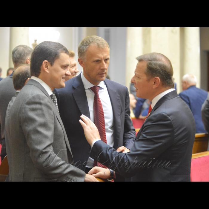 18 жовтня 2018 пленарне засідання Верховної Ради України. Валерій Писаренко