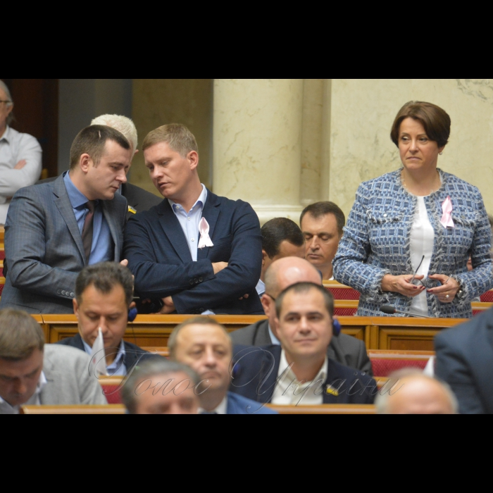18 жовтня 2018 пленарне засідання Верховної Ради України.