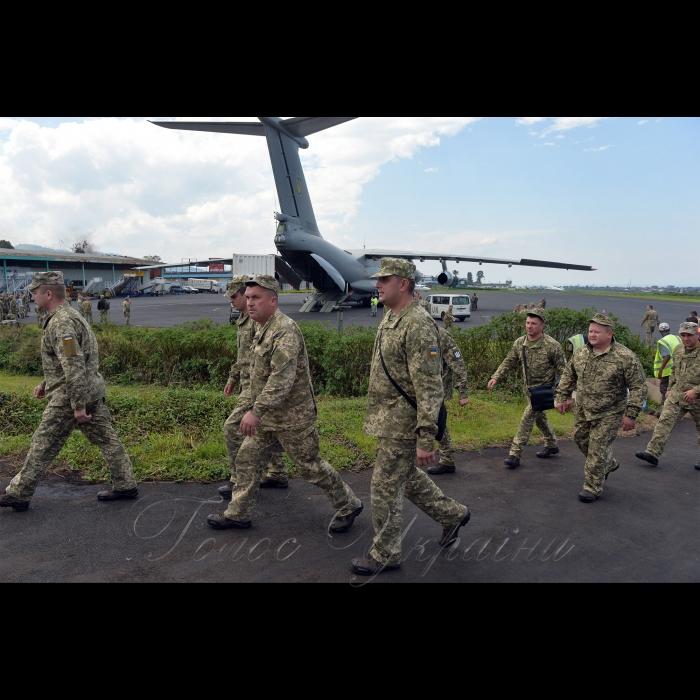 28 октября 2018 в Демократической Республике Конго, где несет службу украинський18-й отдельный вертолетный отряд Миссии ООН по стабилизации в ДР Конго завершилась ротация.