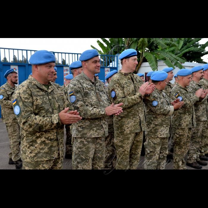 28 жовтня 2018 у Демократичній Республіці Конго, де несе службу український18-й окремий вертолітний загін Місії ООН зі стабілізації у ДР Конго завершилась ротація.