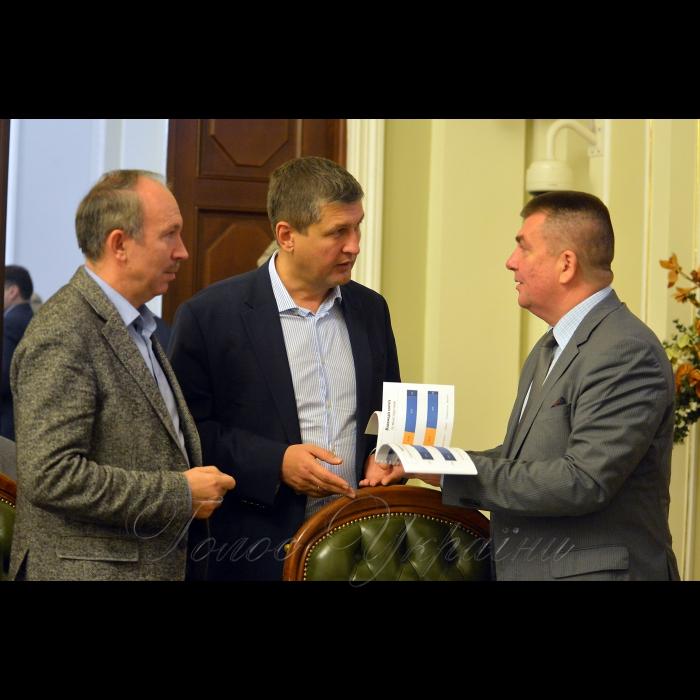 31 жовтня 2018 координаційна зустріч представників проектів міжнародної технічної допомоги (IPTAC) на тему:
