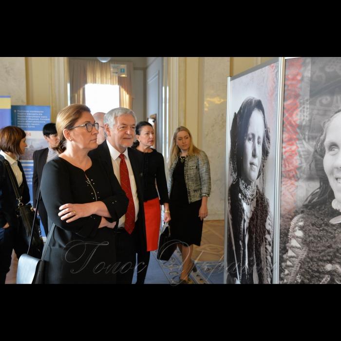 6 листопада 2018 засідання групи Україна – Польща. Відкриття виставки польського дослідника Станіслава Вінченза. Виставка