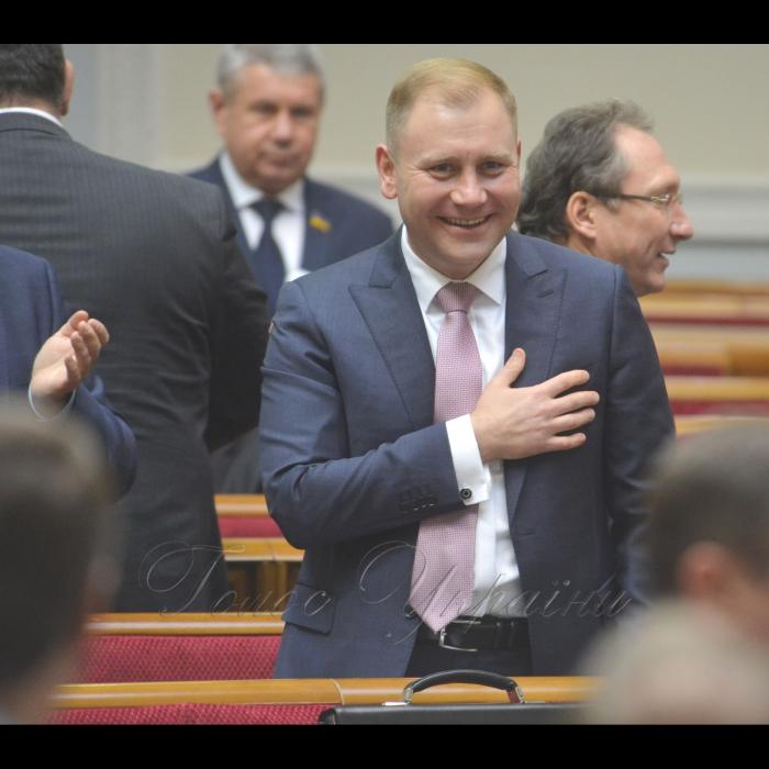 8 листопада 2018 пленарне засідання Верховної Ради України.  Прийнято за основу проект Закону