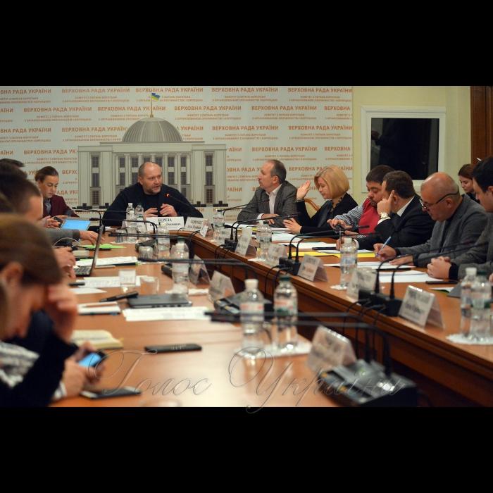 15 листопада 2018 засідання тимчасової слідчої комісії Верховної Ради з розслідування вбивства активістки Катерини Гандзюк.