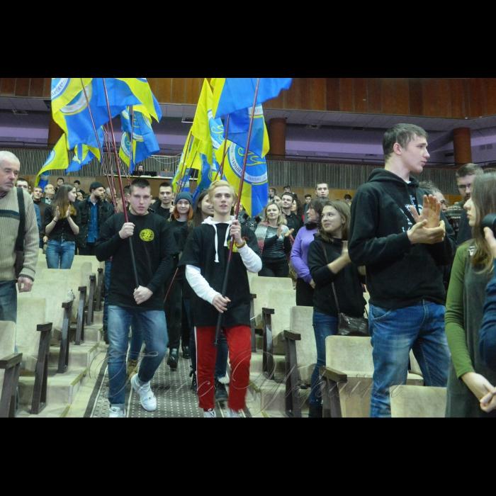 """В центрі культури і мистецтв НТТУ КПІ «Відкритий міжнародний університет розвитку людини """"Україна"""" відзначив ювілей."""