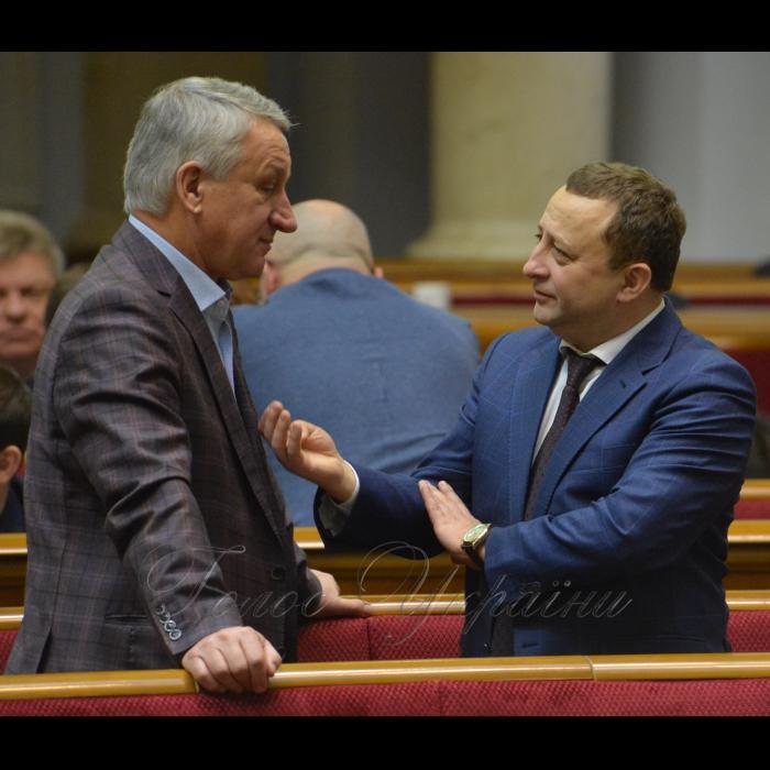 18 грудня 2018 пленарне засідання Верховної Ради України. Прийнято за основу проект Закону