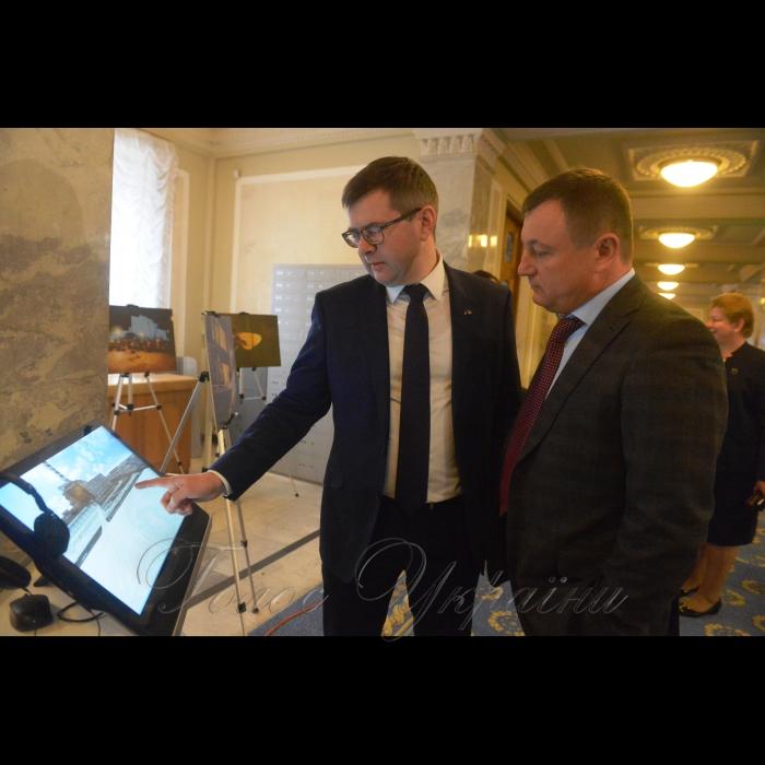 18 грудня 2018 до Дня вшанування учасників ліквідації наслідків аварії на Чорнобильській АЕС буде розгорнуто експозицію «Чорнобиль – територія змін». Виставка складається з тематичної фотовиставки та інтерактивної частини, що розповідають про історію ліквідації аварії на Чорнобильської  АЕС у 1986 році, а також демонструє процеси перетворення зони відчуження на територію інновацій, сучасних технологій та відродження дикої природи. Віталій Петрук - Голова Державного агентства України з управління зоною відчуження, Анатолій Дирів.