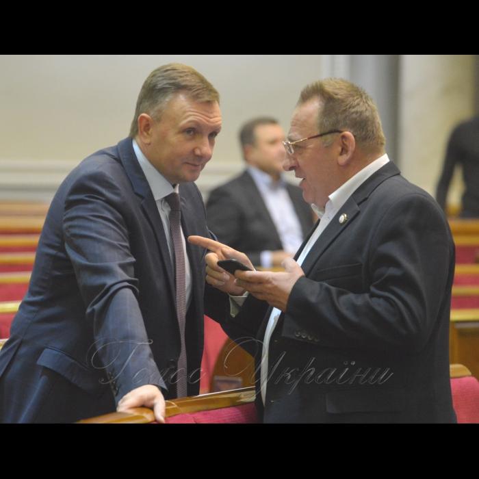 19 грудня 2018 пленарне засідання Верховної Ради України. Представники Національної скаутської організації