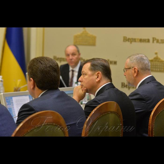 15 січня 2019 погоджувальна рада Верховної Ради України. Олег Ляшко.