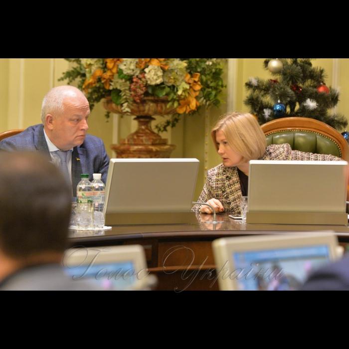 15 січня 2019 погоджувальна рада Верховної Ради України. Степан Кубів-1 віце прем'єр, Ірина Геращенко-1 віце спікер.