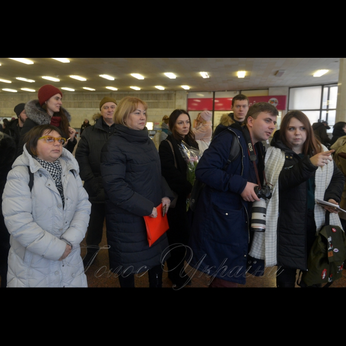 23 січня 2019 Київ, Вестибюль станції метро «Золоті ворота». Художньо-документальний проект