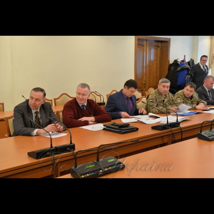 24 января 2019 заседания подкомитета по вопросам взаимодействия с гражданским обществом Комитета Верховной Рады Украины по вопросам предотвращения и противодействия коррупции на тему: